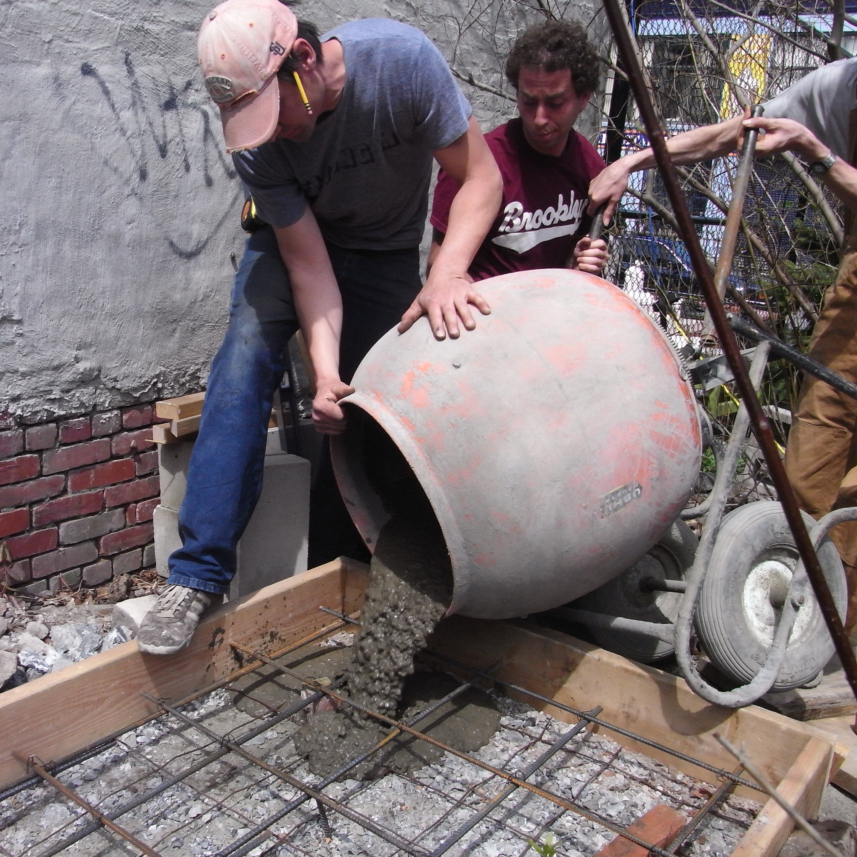 2009 - Water harvesting construction, first dose